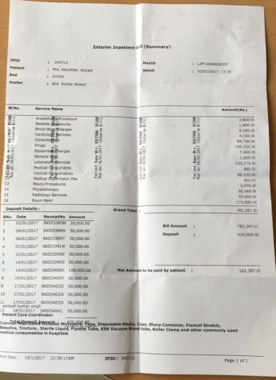 Max Bill Summary ctd 18/1/2017