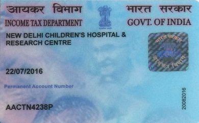 NDCHRC - PAN Card