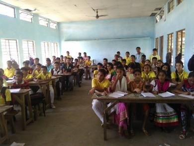Technical Workshop at Model School Mandia,Assam,India