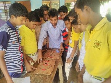 Technical Workshop Mandian H.S.School, Assam,Indai