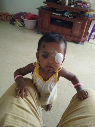 baby Tanmayi at 2 years