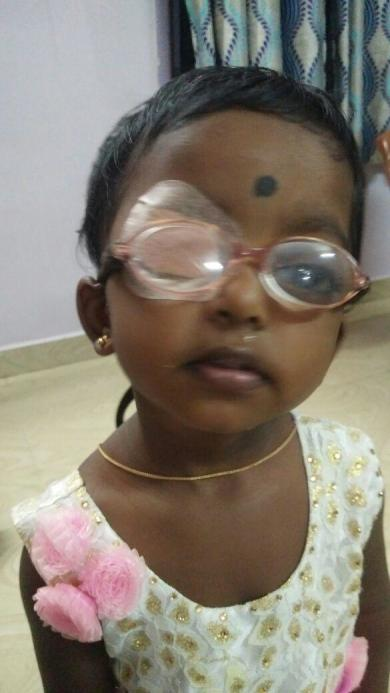 Baby Tanmayi in recovery