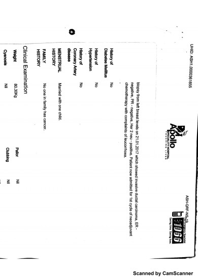 Discharge Summary from Dr Raja Page 2
