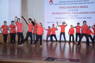 Thalassemia Children performing on International Thalassemia Day