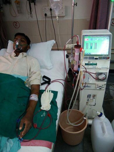 During Dialysis