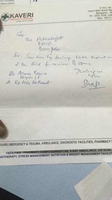 Doctors letter 3