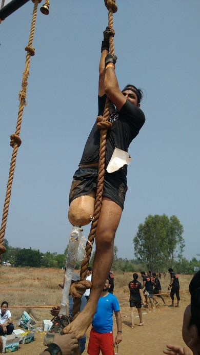 Nothing is impossible in 5km run 20+ obstacles