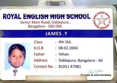 James school ICard