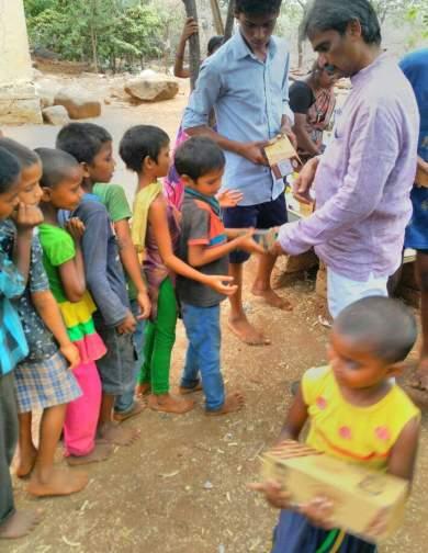 Our Field Volunteer in Anathapur- Sreedhar Rajoli Garu