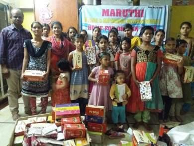 Our Filed volunteer VenuGopal Garu with kids