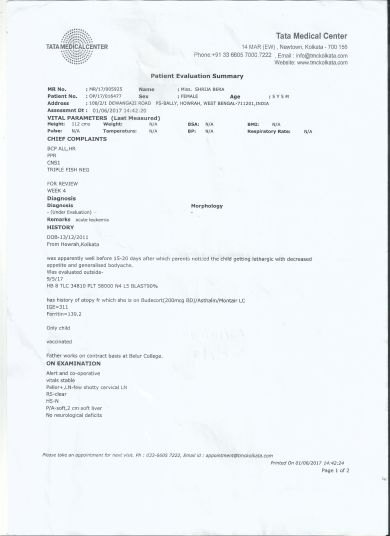 Latest Evaluation Summery P1