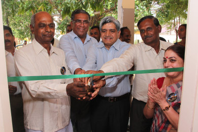 Swachalaya Official Launch at Sri Sharadha school,Tippasandra Village