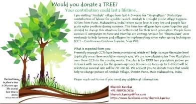 Tree Plantation @ Village Ambale
