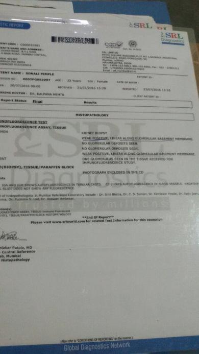 Nair hospital report 1