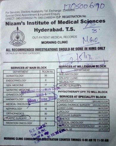 NIMS Hyderabad Admission