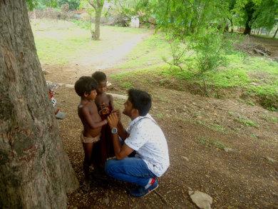 पोखरपी पंचायत में कुपोषित बच्चे
