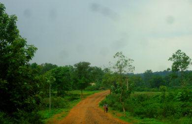 एक गांव का रास्ता