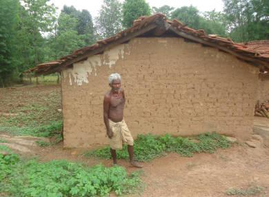 एक आदिवासी वृद्ध