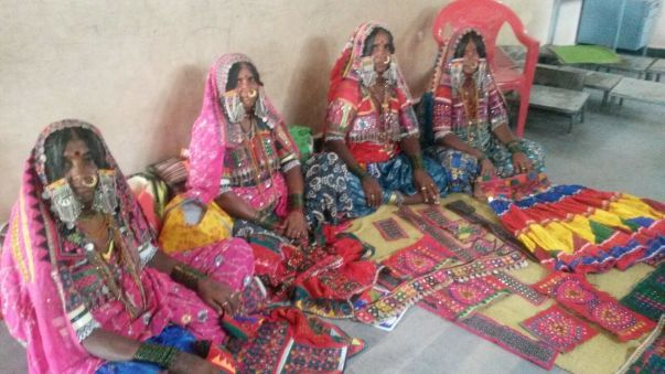 Rano Bai, Sona Bai, Bebi Bai and Sushla Bai belong to Jalgeri village, 30 kms from Bijapur