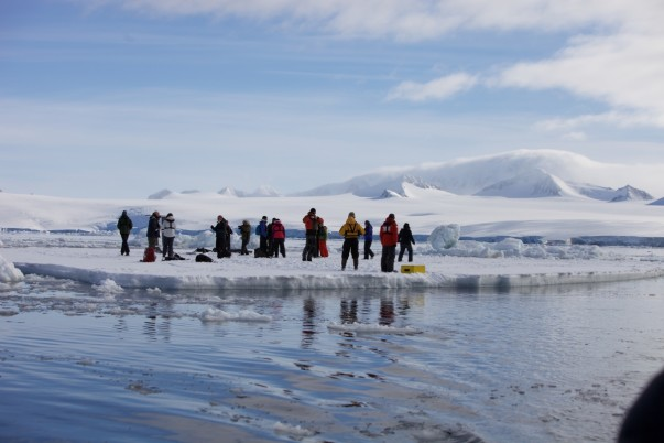 The 'Leadership on the Edge' program by Robert Swan, OBE, is hosted by 2041's expedition to Antarctica.
