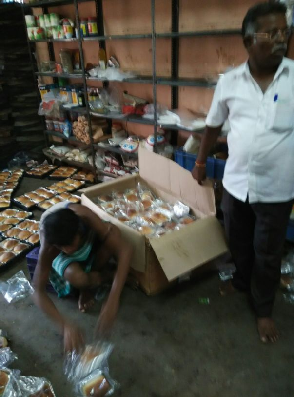 1000 bread loaves sourced from bakery were distributed
