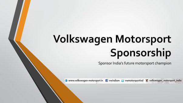 Sponsorship details