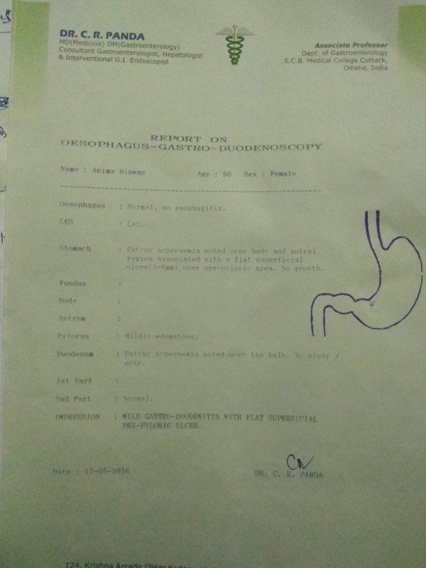 Gastroenterology last report