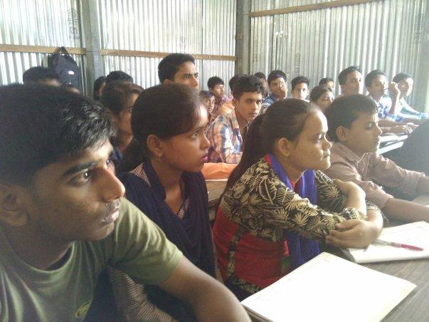 Technical workshop at Mandia jatiya vidyalaya,Assam,India
