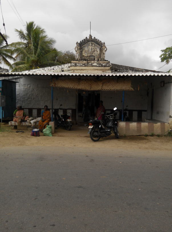 temple where he works