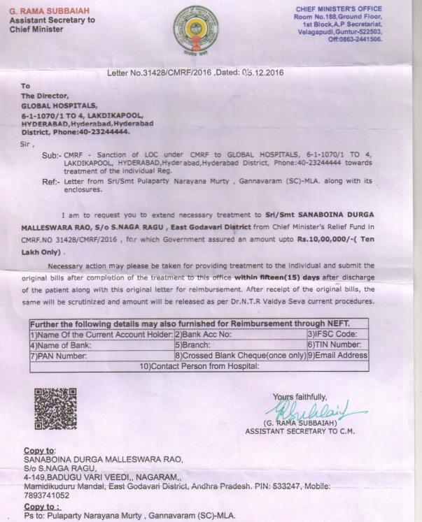 Cm Relief Fund Document