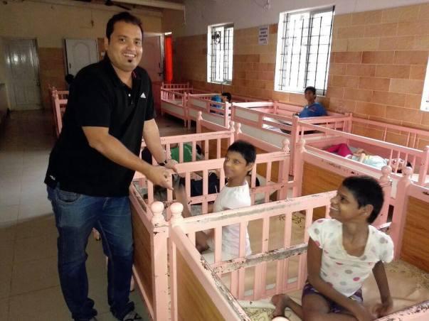 SWANTHANA- A home for mentally retarded girl children .