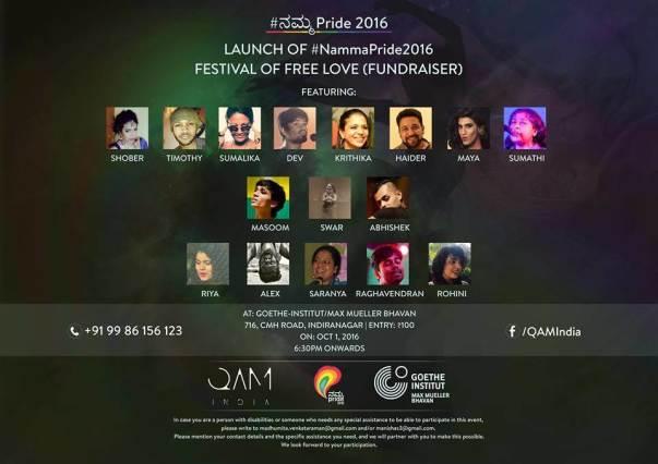 QAM(I) for #NammaPride2016 | Event #1