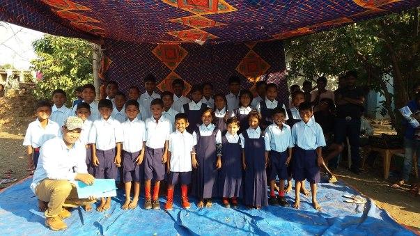 School Bus for Poor Children