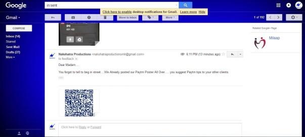 Gmail Sceenshot 3