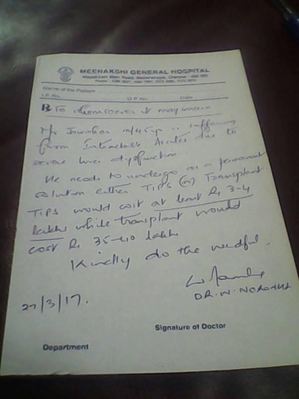 Doctor's Report