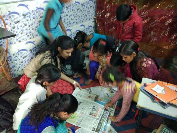Children at Kanhaiya Nagar