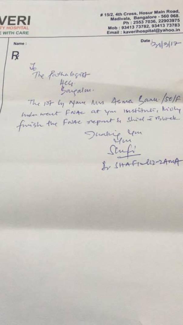 Doctors letter 2