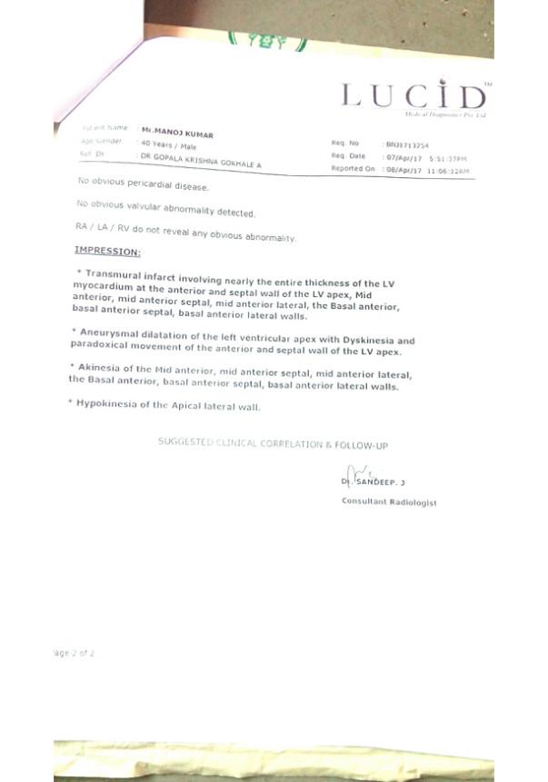 Medical Report -4