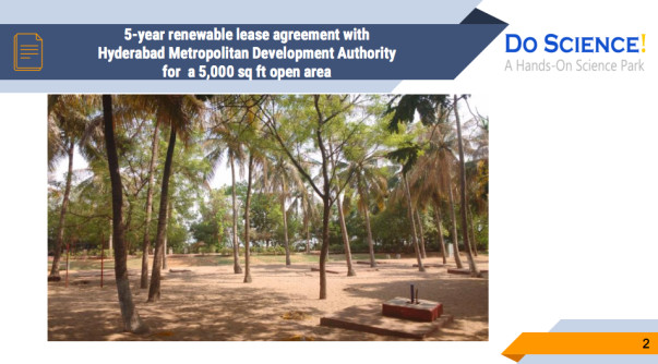 A 5-year renewable lease agreement