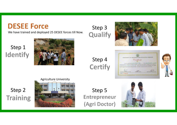 DESEE Force (Digitally Empowered Self Employed Extension Force)
