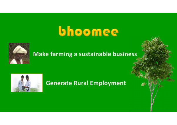 bhoomee - an unique platform for Agri community
