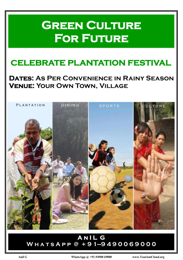Culture for Climate Change: Brief of my earlier work in Assam