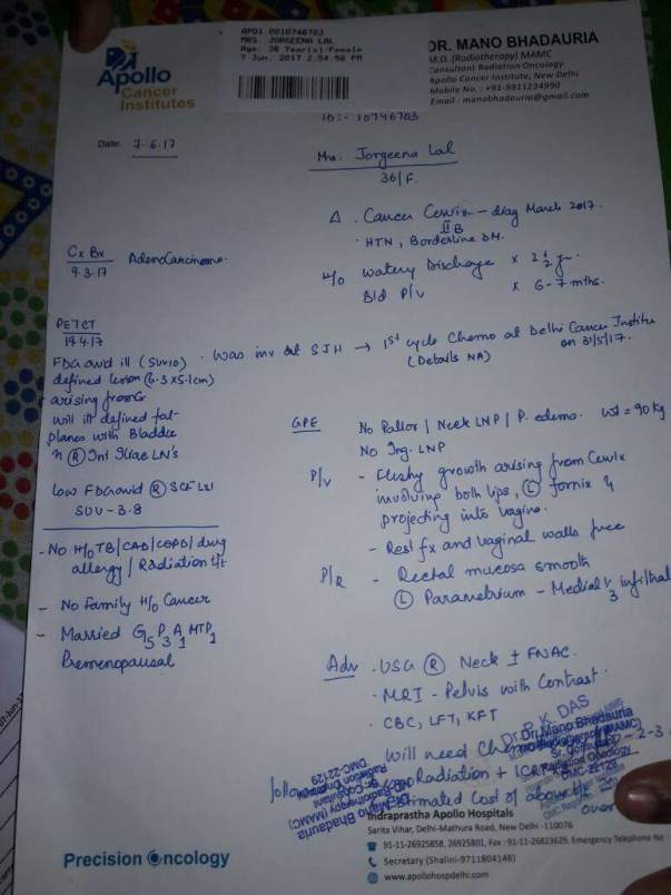 Dr's estimation page - 3