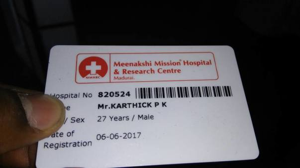 This is admit card.