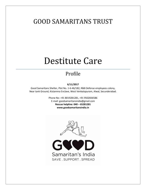 Good Samaritans India: Profile