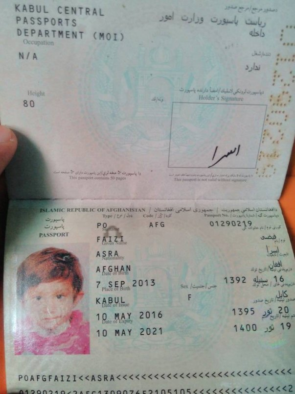 Asra Passport