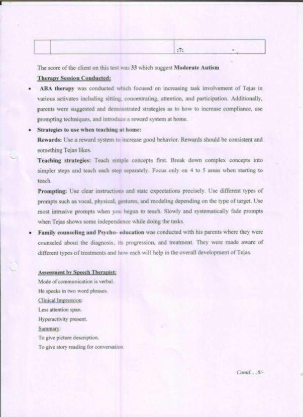 Page 7 - NRRT Treatement Details