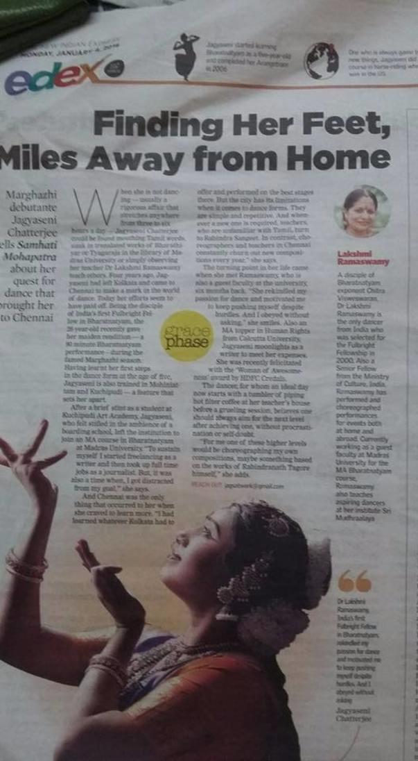 New Indian Express 2016