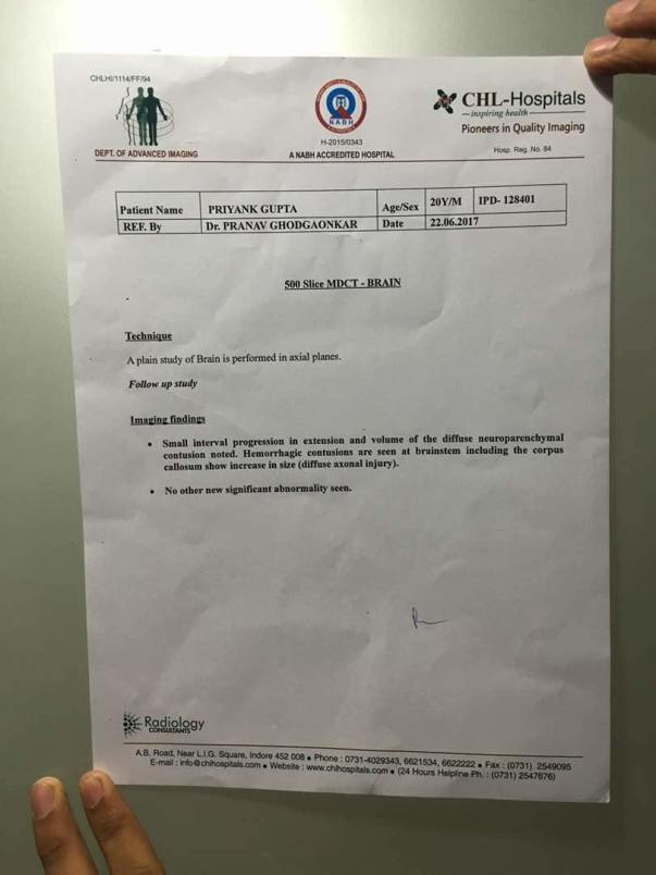 investigation report