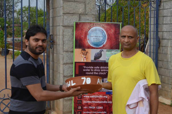 Phase 2 Hyderabad  - Water Bowl Distribution